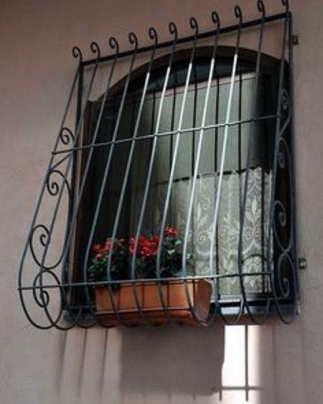 French iron works and windows produced to measure