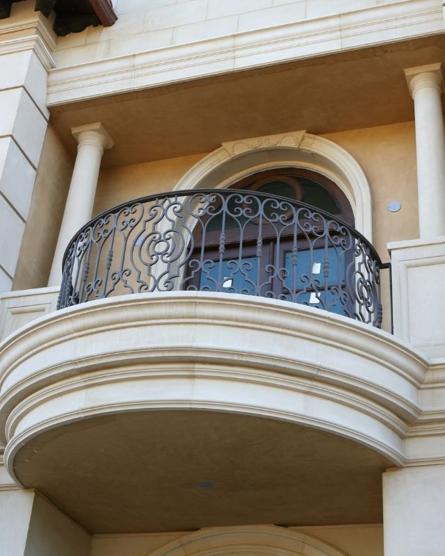 Artistic iron works in Malta for balconies and railings
