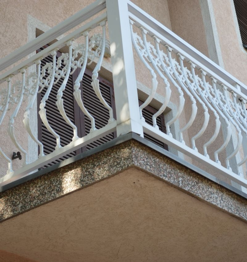 A variety of iron works carried out locally by Graham ALUMINUM