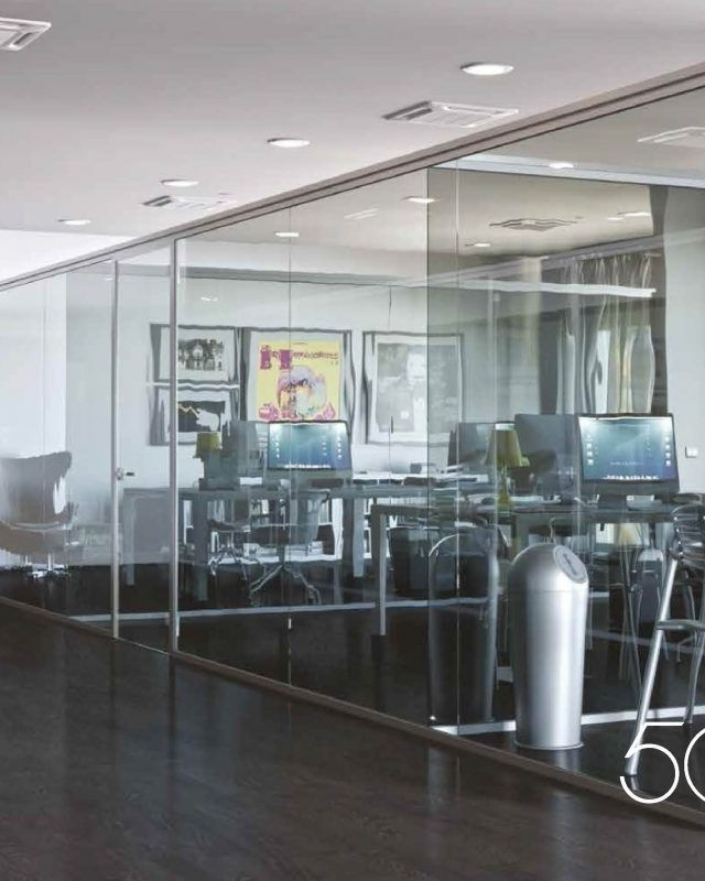 Strong and secure office partitioning solutions in Malta