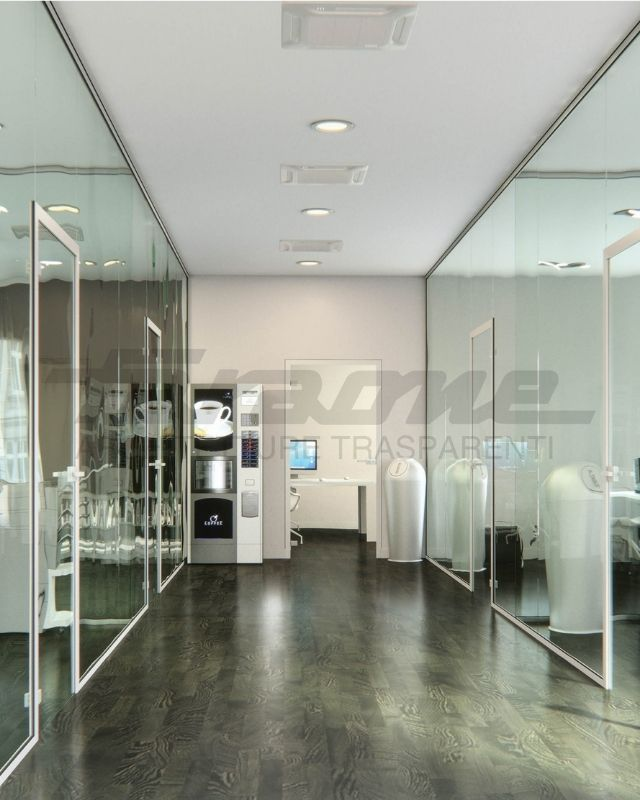 High quality glass partitions for modern offices in Malta