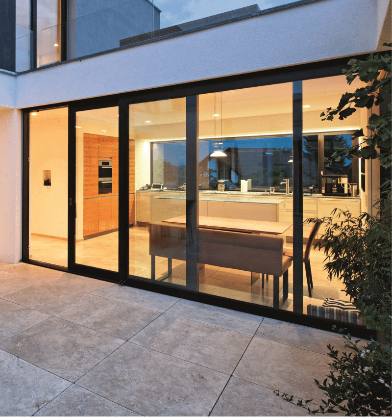 Excellent sound proofing guaranteed with a Graham Aluminium Doors and Windows installation