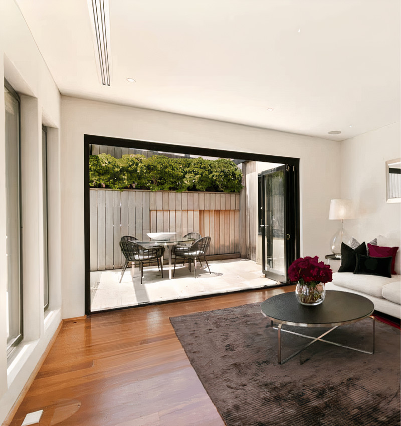 Fold and Slide doors in Malta offering the best sound proofing and insulation