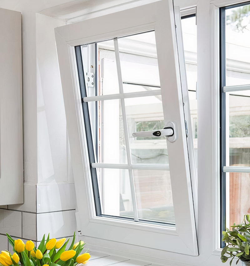 PVC systems for windows and doors offer incredible sound proofing